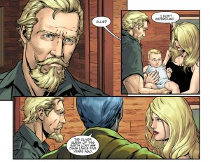 Black Canary reunited with Green Arrow.