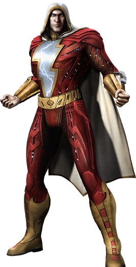 Injustice Gods Among Us Shazam Render
