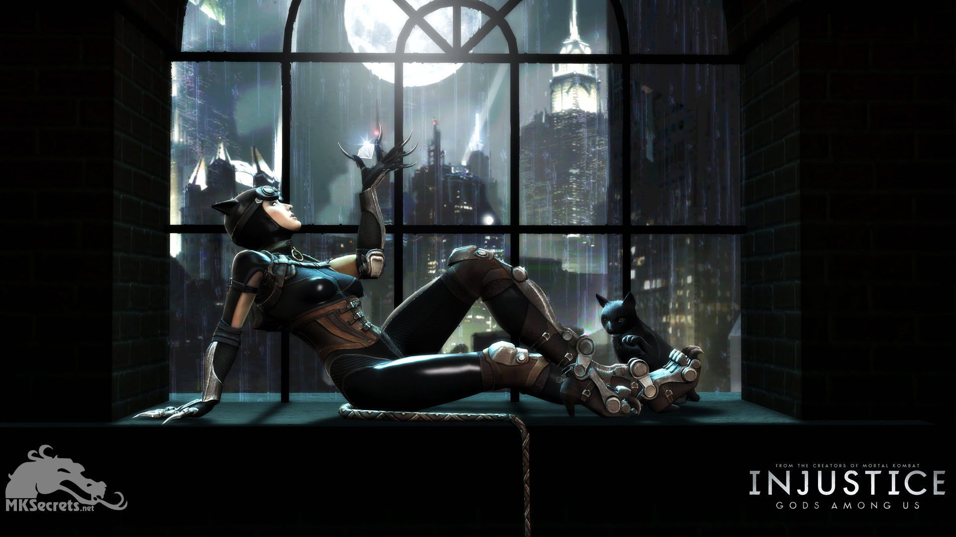 injustice gods among us wallpaper catwoman injustice online. Black Bedroom Furniture Sets. Home Design Ideas