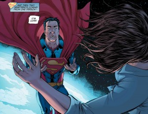 Superman kills Lois Lane believing she is Doomsday.