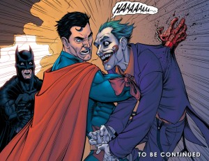Superman kills the Joker.
