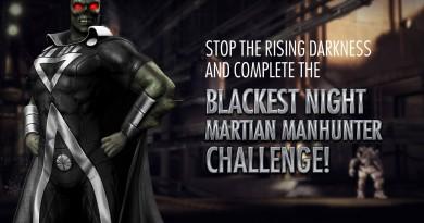 Blackest Night Martian Manhunter Challenge For Injustice Mobile Has Begun