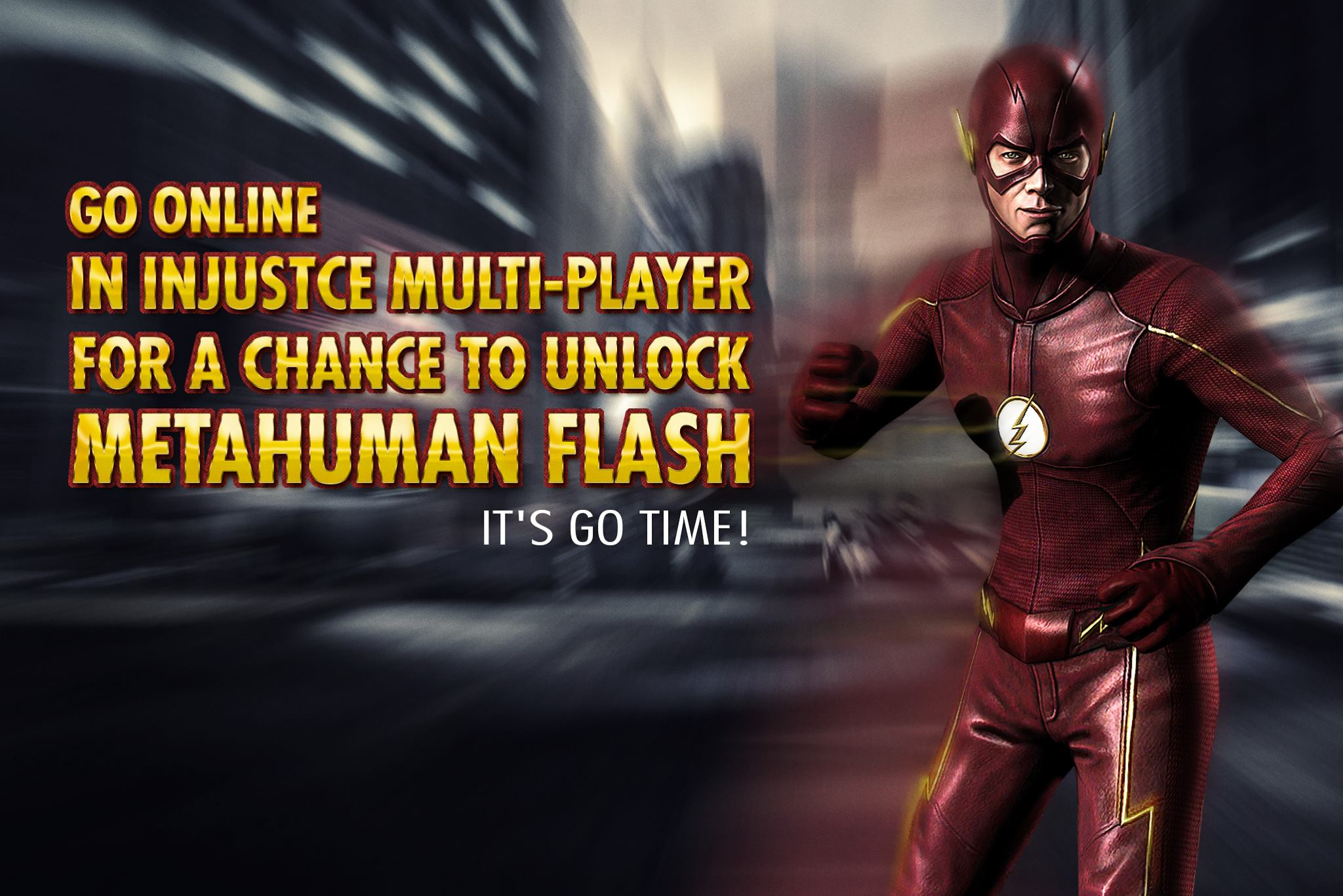 Metahuman CW Flash Multiplayer Challenge For Injustice Mobile