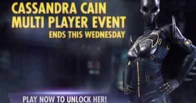 Cassandra Cain Batgirl Multiplayer Challenge For Injustice Mobile
