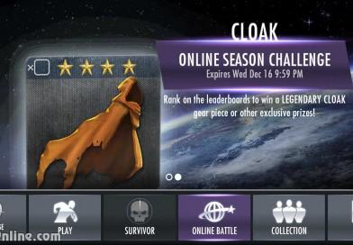 Legendary Cloak Multiplayer Challenge For Injustice Mobile