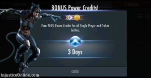injustice-gods-among-us-mobile-double-power-credits-bonus