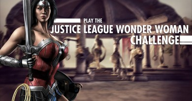Justice League Wonder Woman Challenge For Injustice Mobile Has Arrived