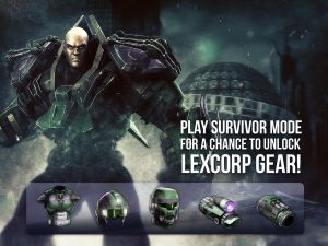 injustice-gods-among-us-mobile-lex-corp-gear-set-survival-challenge