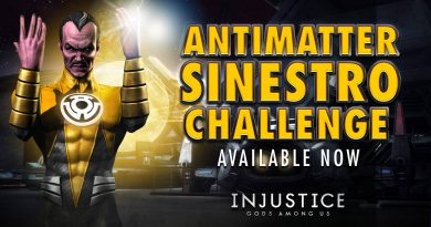 Antimatter Sinestro Challenge For Injustice Mobile