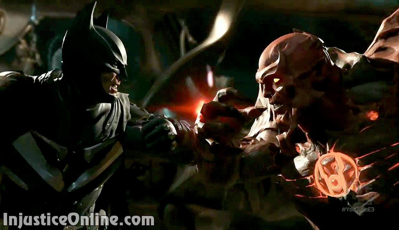 Injustice 2 E3 2016 Gameplay Batman Vs Atrocitus