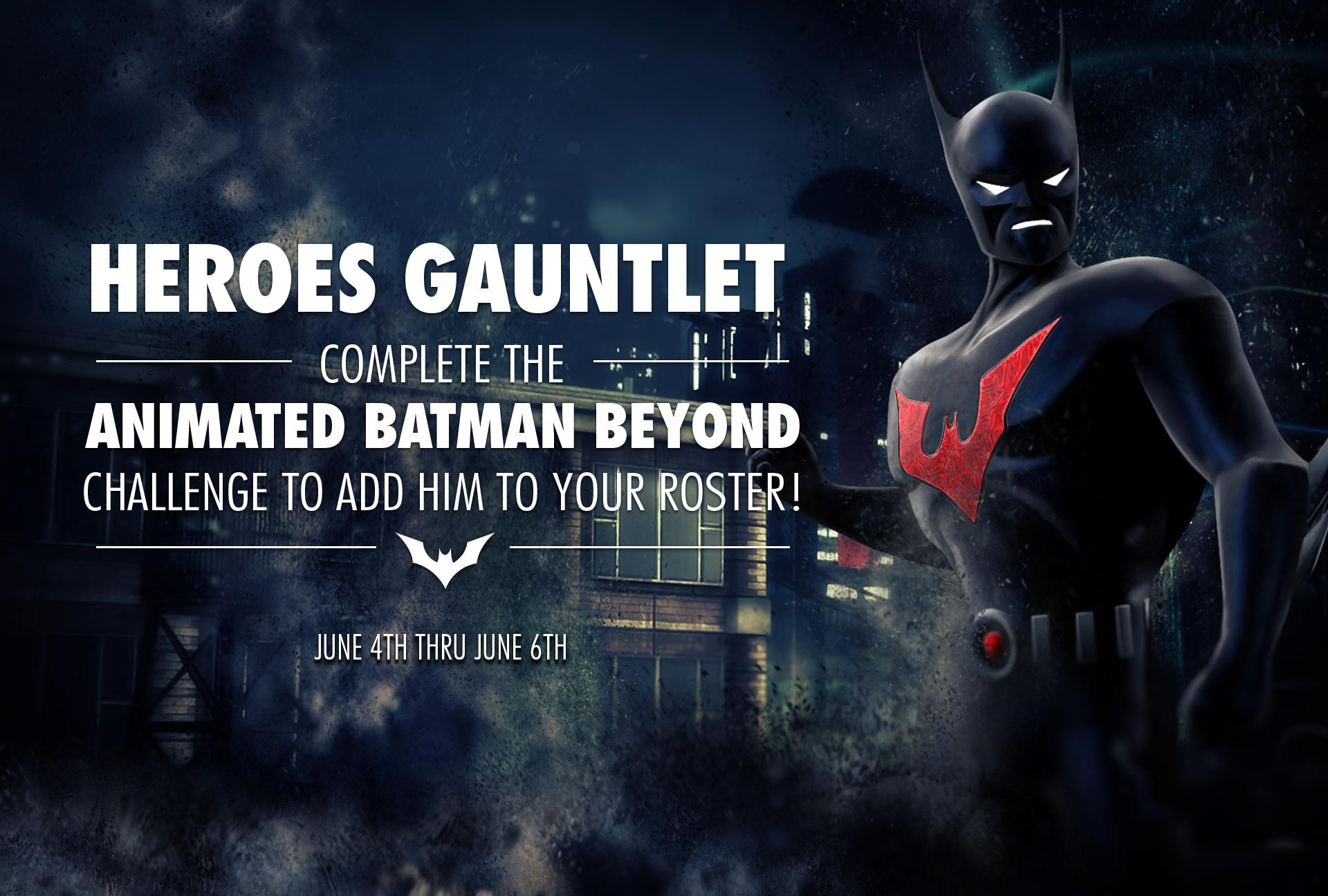 Animated Batman Beyond Challenge For Injustice Mobile