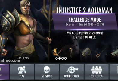 Injustice 2 Aquaman Challenge For Injustice Mobile