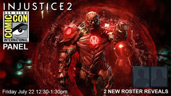 Injustice 2's San Diego Comic Con Panel All Details