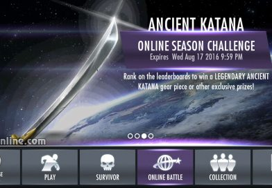 Ancient Katana Gear Multiplayer Challenge For Injustice Mobile