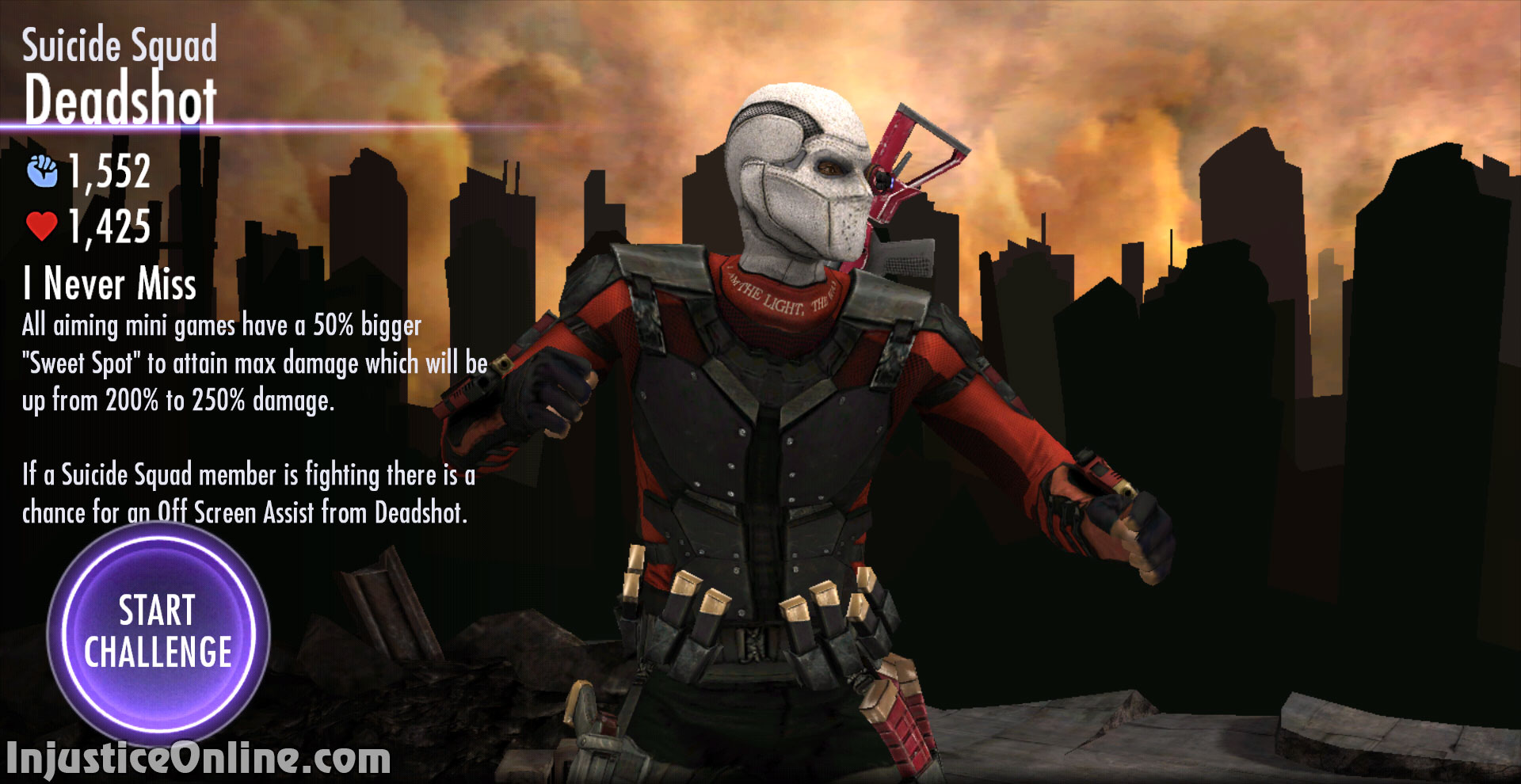 Injustice Gods Among Us Mobile Suicide Squad Deadshot