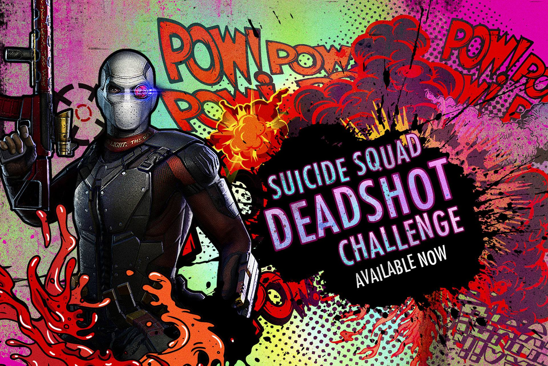 Suicide Squad Deadshot Challenge For Injustice Mobile ... Will Smith Deadshot