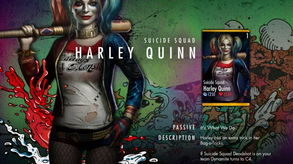 Suicide Squad Harley Quinn Challenge For Injustice Mobile