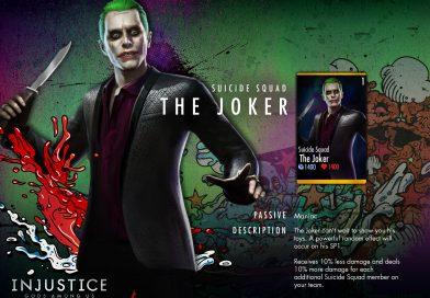 Suicide Squad The Joker Challenge For Injustice Mobile