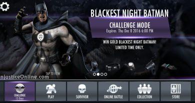 Blackest Night Batman Challenge For Injustice Mobile