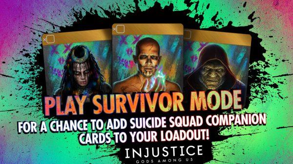 Suicide Squad Companion Cards Available In Survivor Mode