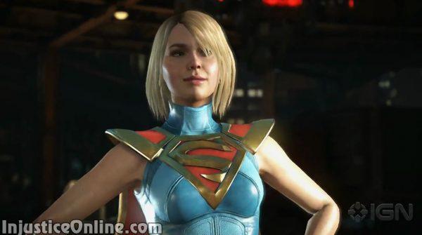 Injustice 2 Supergirl Gameplay Walkthrough Video