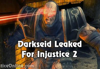Darkseid Leaked For Injustice 2 By US PSStore