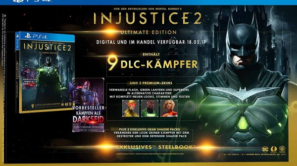 Injustice 2 European Release Date and Game Editions