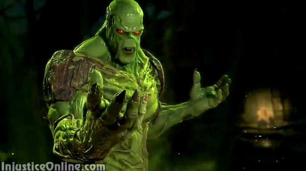 Swamp Thing Confirmed For Injustice 2 in a New Gameplay Trailer