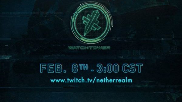 Injustice 2 Watchtower February 8th Stream Live Report