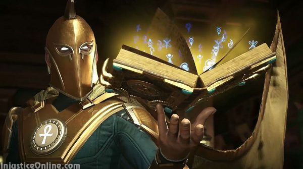 Dr. Fate Confirmed For Injustice 2