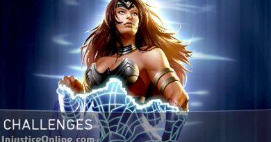 Warrior Queen Wonder Woman Challenge For Injustice 2 Mobile