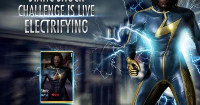 Static Challenge For Injustice Mobile