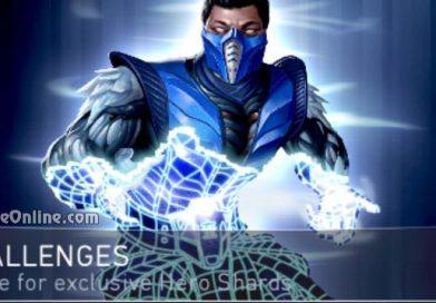 Sub-Zero Challenge For Injustice 2 Mobile