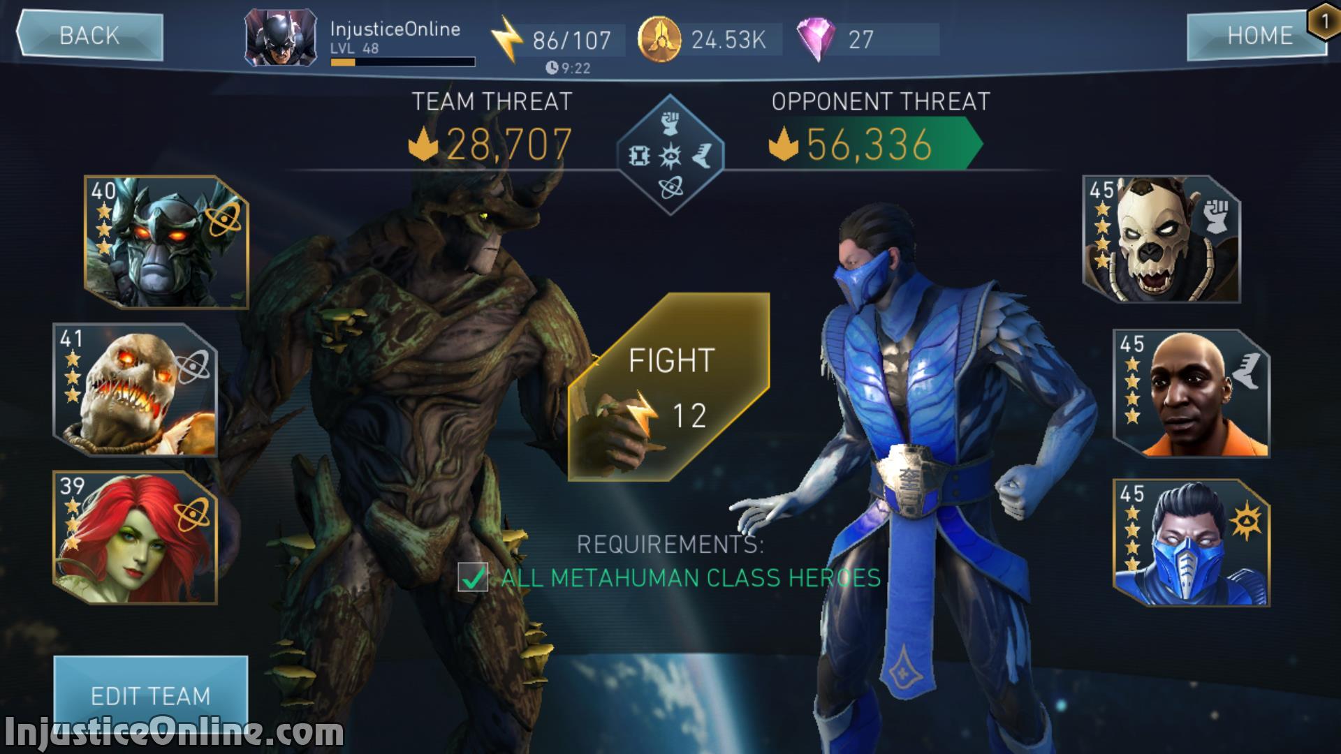 Injustice 2 Mobile Sub Zero Challenge Screenshot 03 Injusticeonline