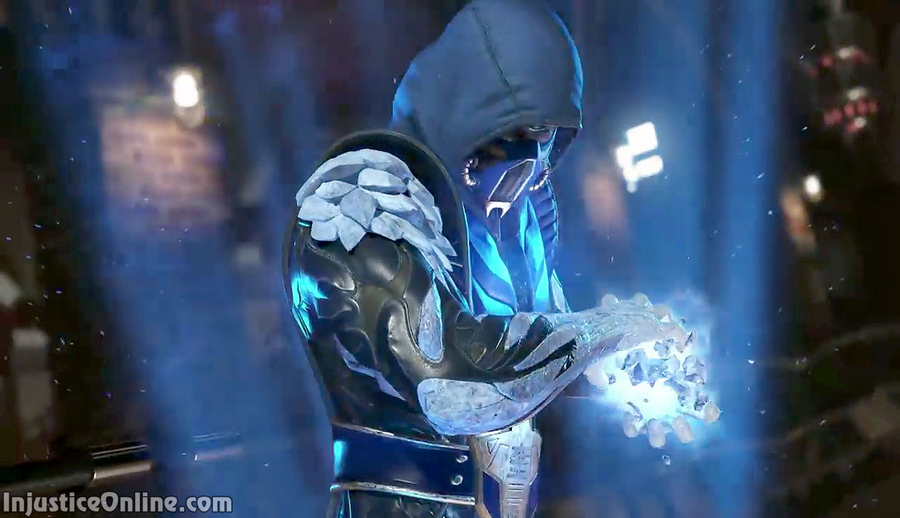 Scorpion Was One Of The DLC Fighters In Original Injustice Gods Among Us Which Sub Zero Only Had A Small Cameo Intro Sequesnce