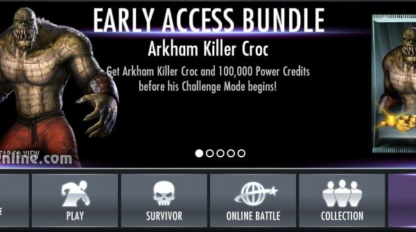 Arkham Killer Croc, Arkham Knight Batgirl and More in Injustice Mobile 2.16