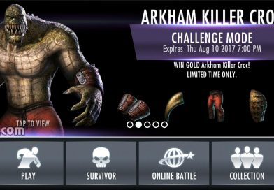 Arkham Killer Croc Challenge For Injustice Mobile