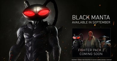 Injustice 2 Black Manta DLC Release Date and Gameplay Trailer Coming