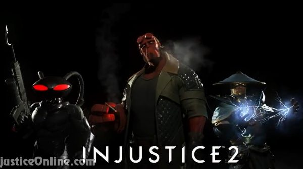 Injustice 2 Fighter Pack 2 Reveal Trailer: Raiden, Hellboy & Black Manta