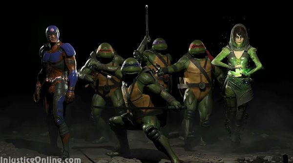 Teenage Mutant Ninja Turtles, Enchantress and Atom Join Injustice 2