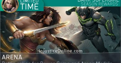 Dark Supergirl Arena Season For Injustice 2 Mobile