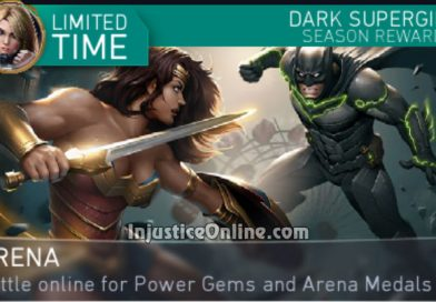 Dark Supergirl Arena Season For Injustice 2 Mobile