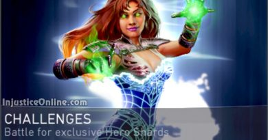 Energized Starfire Challenge For Injustice 2 Mobile