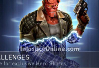 Hellboy Challenge For Injustice 2 Mobile