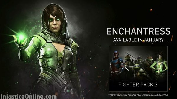 Enchantress Released for Injustice 2