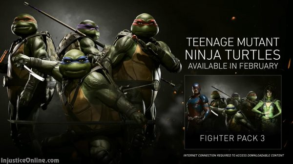 Injustice 2 Teenage Mutant Ninja Turtles Gameplay Trailer