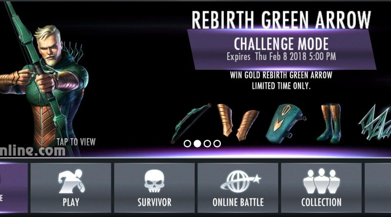 Rebirth Green Arrow Challenge For Injustice Mobile