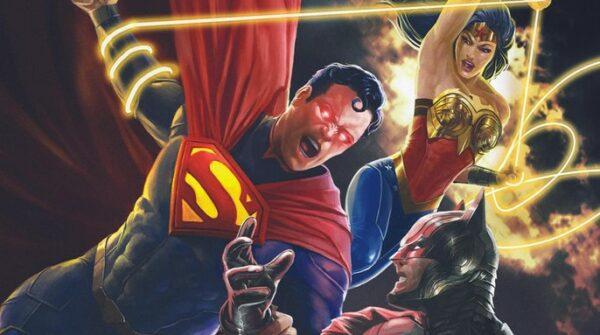 Injustice Animated Movie Box Art and Release Date